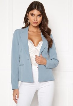 ONLY Selma-Astrid L/S Fitted Blazer Faded Denim Bubbleroom.fi