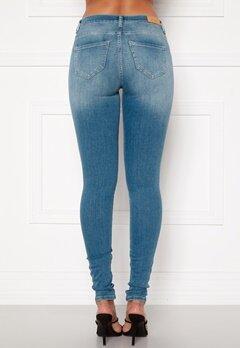ONLY Shape Life Reg Sk Jeans Light Blue Denim Bubbleroom.fi