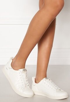 ONLY Shilo Pu Sneaker White Bubbleroom.fi