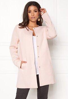 ONLY Sidney Light Coat Rose Quartz Bubbleroom.fi