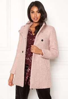 ONLY Sophia Boucle Wool Coat Moonlight/Melange Bubbleroom.fi