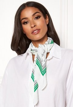 ONLY Statement Weaved Scarf Simply Green Bubbleroom.fi