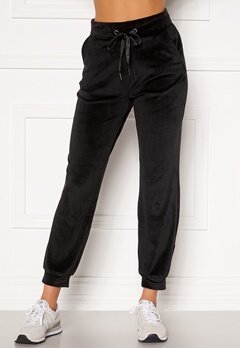 ONLY Tammy Velour Pant JRS Black Bubbleroom.fi