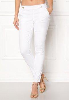 Jacqueline de Yong Tara Button Pant White Bubbleroom.fi