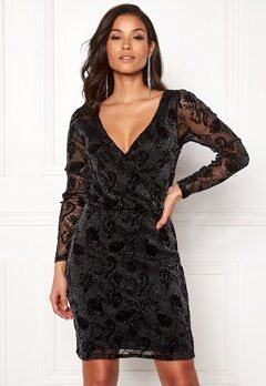 ONLY Tayla L/S Dress Black Bubbleroom.fi