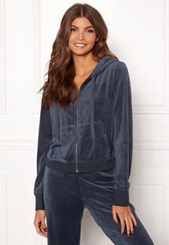 ONLY Thea L/S Zip Hood Night Sky Bubbleroom.fi