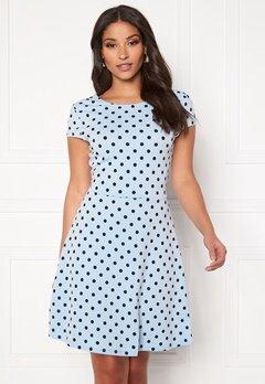 ONLY Tina S/S Dress Cashmere Blue Bubbleroom.fi