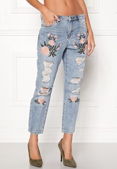 ONLY Tonni Jeans Light Blue Denim Bubbleroom.fi