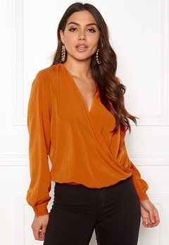 ONLY Toscany L/S Deep Top Marmalade Bubbleroom.fi
