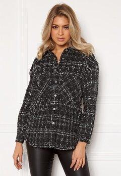 ONLY Valeria L/S Shirt Black Bubbleroom.fi