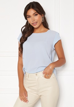 ONLY Vic S/S Solid Top Kentucky Blue Bubbleroom.fi