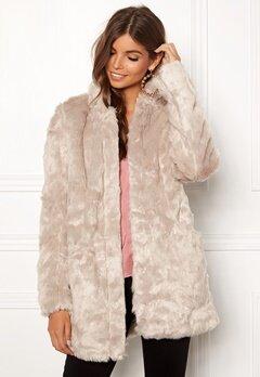 ONLY Viva Fur Coat Pure Cashmere Bubbleroom.fi