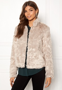 ONLY Viva Fur Jacket Pure Cashmere Bubbleroom.fi
