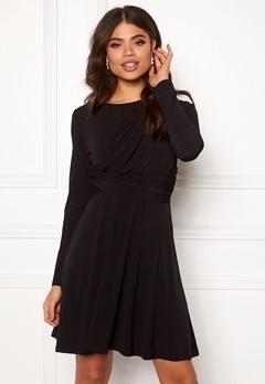 ONLY Xenia L/S Dress Black Bubbleroom.fi