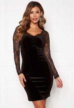 ONLY Zemba L/S Dress Black Bubbleroom.fi