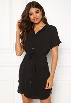 ONLY Nova Lux Soild Dress Black Bubbleroom.fi