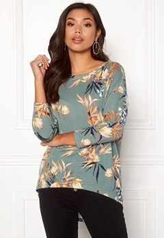 ONLY Elcos 4/5 Top Chinois Green Bubbleroom.fi