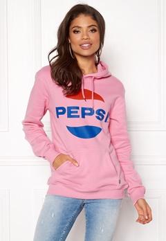 Pepsi Sweet Pepsi Logo Hoodie Pink Bubbleroom.fi
