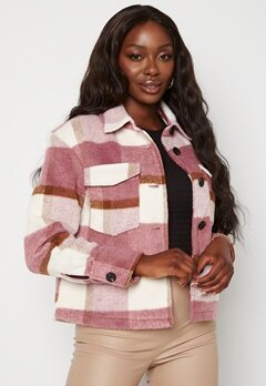 VERO MODA Pernille Short Jacket Mesa Rose Checks Bubbleroom.fi