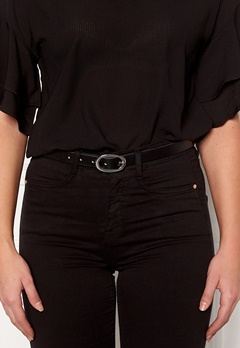 Pieces Ana Leather Jeans Belt Black Bubbleroom.fi