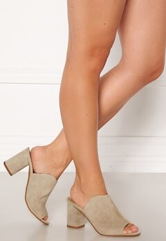 Pieces Anila Suede Mule Warm Sand Bubbleroom.fi
