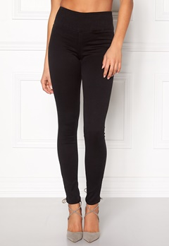 Pieces Betty High Waist Jeggings Black Bubbleroom.fi