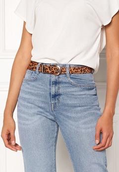 Pieces Cynlee Leather Jeans Belt Cognac Bubbleroom.fi
