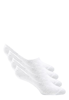 Pieces Gilly Footies 4 Pack Bright White Bubbleroom.fi