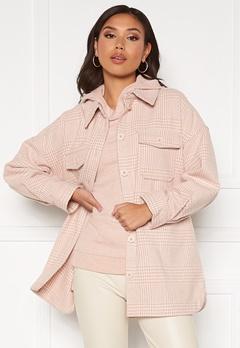 Pieces Gwyneth Overshirt Jacket Rose Cloud bubbleroom.fi