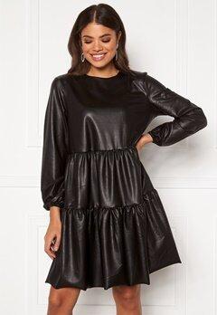 Pieces Hannah LS Dress Black Bubbleroom.fi
