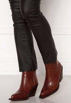 Pieces Jean Leather Boot Cognac Bubbleroom.fi