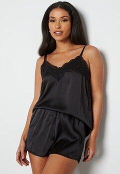 Pieces Jessica Nightwear Set Black bubbleroom.fi