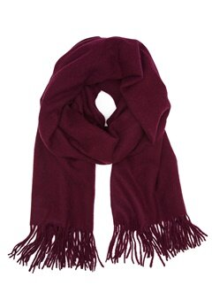 Pieces Jira Wool Scarf Winetasting Bubbleroom.fi