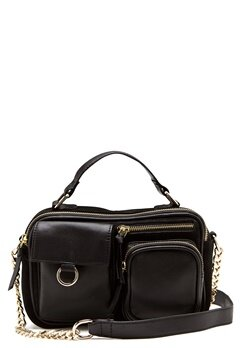 Pieces Joan Leather Cross Body Black Bubbleroom.fi