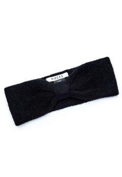 Pieces Josefine Wool Headband Black Bubbleroom.fi
