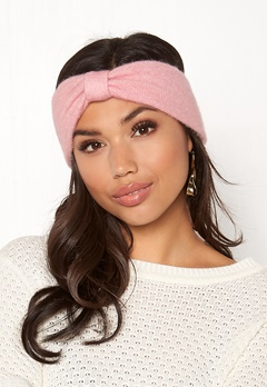 Pieces Josefine Wool Headband Peachskin Bubbleroom.fi