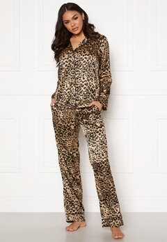 Pieces Juliana PJ Set Toasted Coconut Bubbleroom.fi