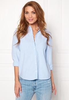 Pieces Katia Shirt Faded Blue Bubbleroom.fi