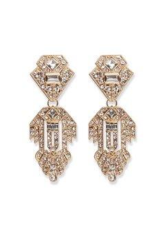 Pieces Kenzie Earrings Gold Bubbleroom.fi