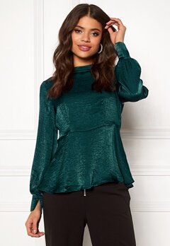 Pieces Kiley LS T-neck Top Ponderosa Pine Bubbleroom.fi
