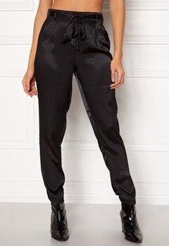 Pieces Laura Ankle Pants Black Bubbleroom.fi