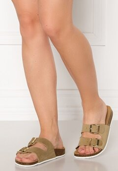 Pieces Lina Suede Sandal Warm Sand Bubbleroom.fi
