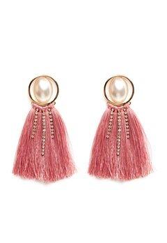 Pieces Mabelle Earrings Gold Colour Bubbleroom.fi