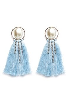 Pieces Mabelle Earrings Silver Colour Bubbleroom.fi