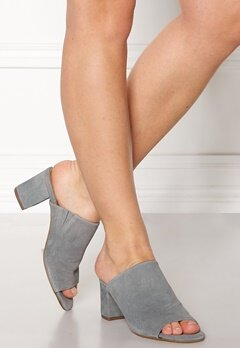 Pieces Mela Suede Shoes Grey Bubbleroom.fi