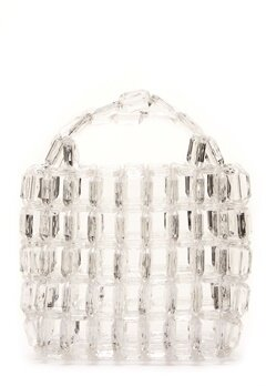 Pieces Milka Pearl Bag Bright White Bubbleroom.fi