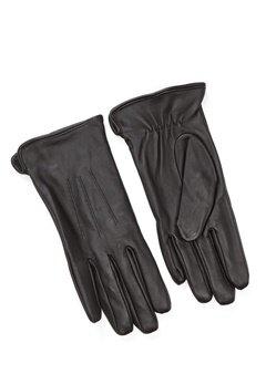 Pieces Nellie Leather Glove Black Bubbleroom.fi