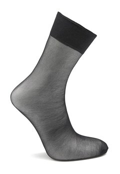 Pieces New Nikoline 2-Pack 20 Den Knee Socks Black Bubbleroom.fi