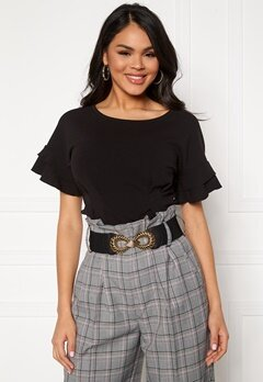 Pieces Nona Waist Belt Black Bubbleroom.fi