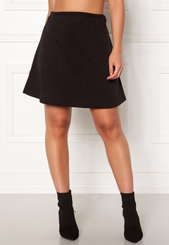 Pieces Wonder Skirt Black Bubbleroom.fi